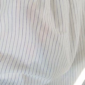 Free People Tops - Free people thin stripe poet blouse tunic